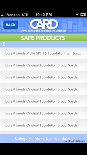 CARD App Foundation A-B