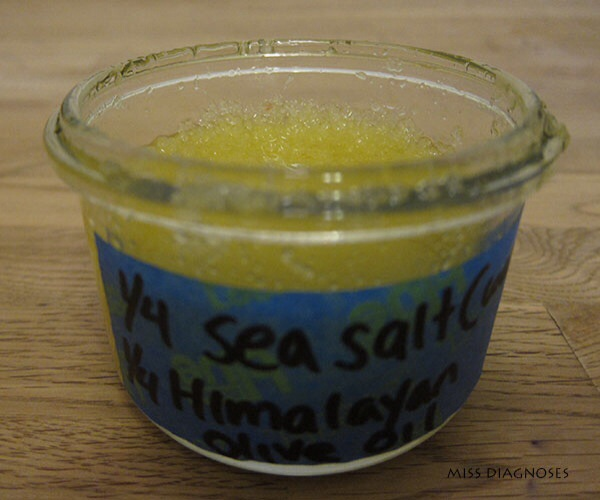 Sea-salt-and-Himalayan-salt foot-and-body-scrub