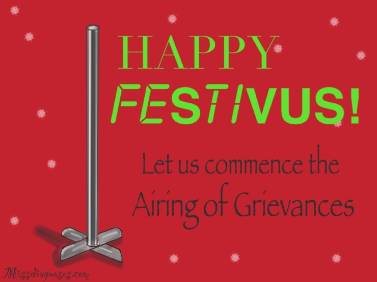 Happy Festivus and Festivus pole