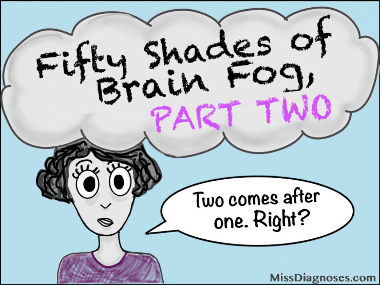 Header image for fifty shades of brain fog, part two