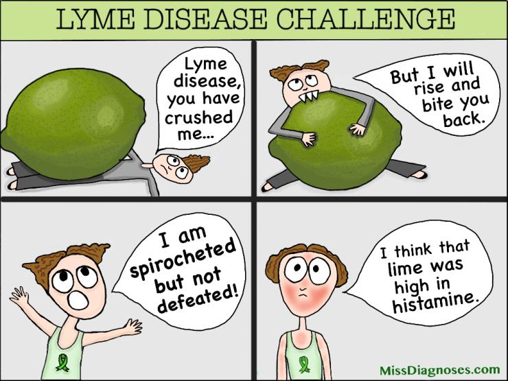 Lyme Disease Challenge comic
