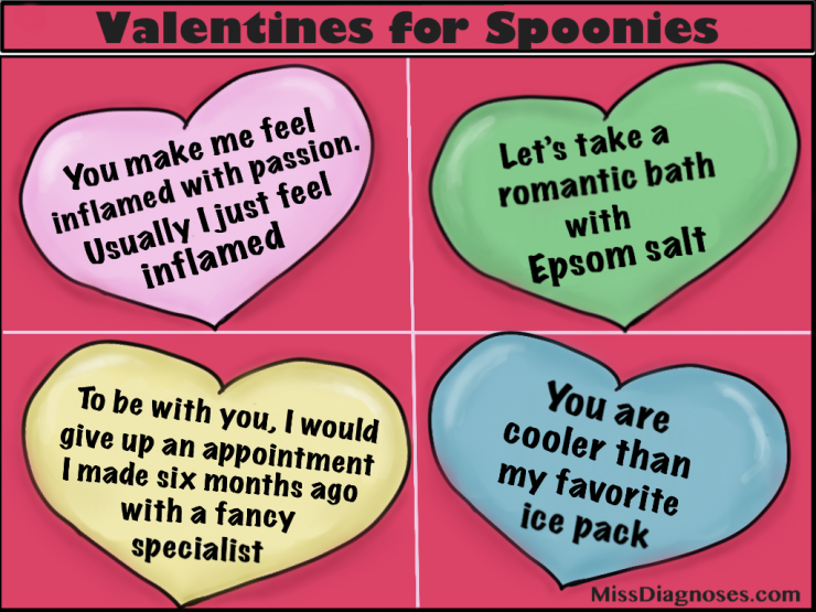 Valentines for spoonies part two