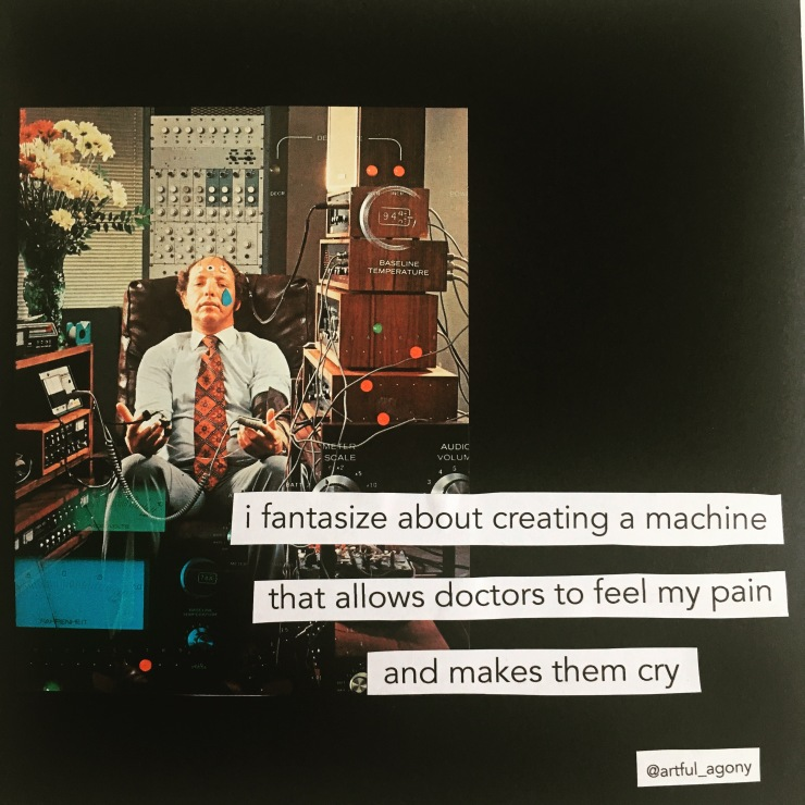 Machine that allows doctors to feel my pain
