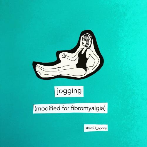 Jogging for fibromyalgia