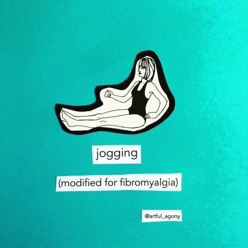 Jogging for fibromyalgia