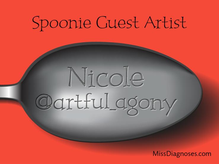 Artful agony spoon