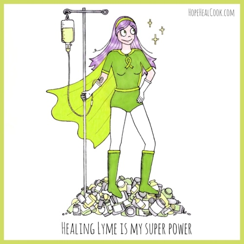 Hope healing Lyme disease