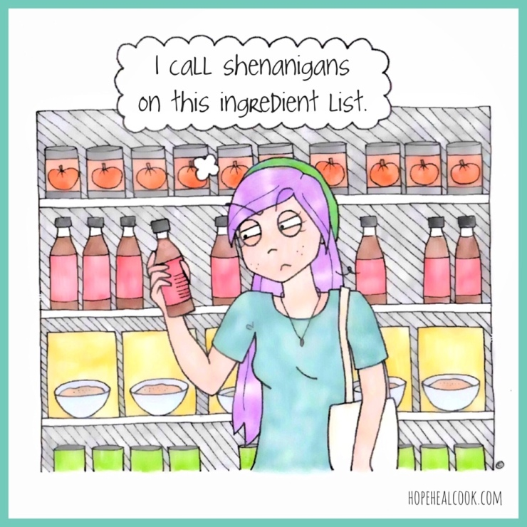 Hope ingredients list