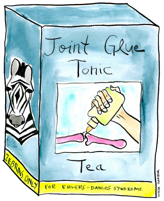 Alyssa Joint glue tonic tea